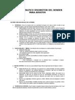 BENDER Cualitativo y Proyectivo ADULTO.doc