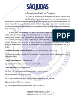 Idiomatic Expressions in English and Portuguese