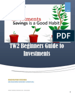 TW2 Begginers Guide to Investments
