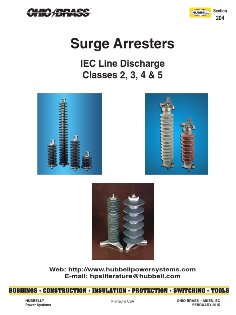 1510005270 ohio brass surge arresters pdf insulator (electricity  at cos-gaming.co