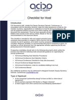 ICA Annual Conference Checklist for Host 2013-04_EN