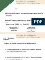 Cap 06 - Análise das Demonstrações Financeiras.ppt