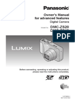 Lumix Camera Owners Manual