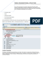 Sap Mm Defining Structure