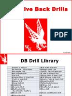 Drills Defensive DB