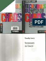 Timothy Leary-Techniques Du Chaos-L'ESPRIT FRAPPEUR (1998)