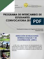 Presentacion de Intercambio - 20161219