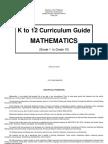 MATH Curriculum Guide (CG) Grade 4