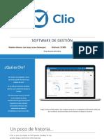 Software de Gestión Jurídica Clio
