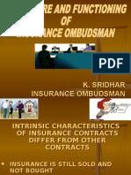 Insurance Ombudsman Ppt