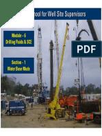 6.1 Drilling Fluids Part I