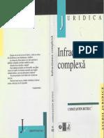 Infracţiunea Complexă - C.butic - 1999