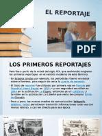 El Reportaje, Exposición