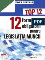 12 Formulare Obligatorii Pentru Legislatia Muncii