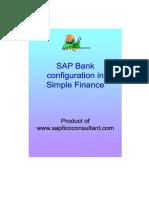Bank Configuration Hana