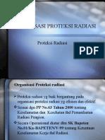 ORGANISASI PROTEKSI RADIASI