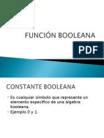 FUNCIONES BOOLEANAS 2