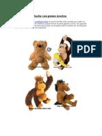 Muñecos de peluche con penes erectos