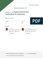 Comportamentul Individual in Sanatate Vol 1