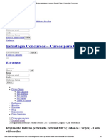 Regimento Interno Concurso Senado Federal _ Estratégia Concursos
