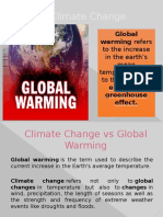 Effects of Global Warning