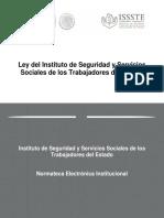 Ley de instituto de seguridad y servicio para los trabajadores del estado (ISSSTE).pdf