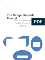 Bengal Record Manual 1943 2
