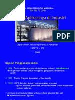 X. DTM Enzim & Aplikasinya Di Industri
