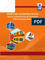 Significant Accounting Policies of India Railways
