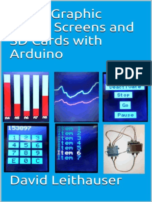 using Graphic Touch Screens and SD Cards With Arduino