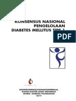 Konsensus Endokrin DM Tipe 1 (2015)