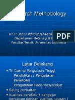 Kuliah Research Methodology 1