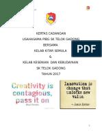 Cadangan Program Usahasama Pibg Untuk Kelab Keseniaan Kebudayaan & Kelab Kitar Semula 2017