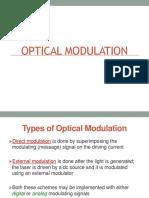 Lecture 6 Optical Modulators