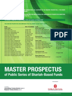 Master Prospectus - Public Series of Shariah-based Funds