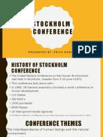 Stockholm Conference Ppt