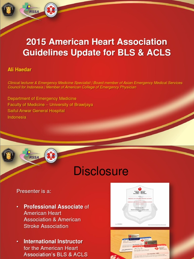 2015 American Heart Association Guidelines Update for CPR