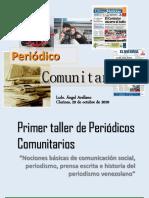 1er Taller Periódicos Comunitarios