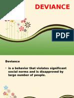 Midterm Lesson 6 Deviance