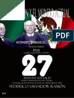 La Religión y el Mundo Actual  de Federico Salvador Ramón – 27 – Movimiento antirreligioso en México