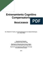 Entrenamiento Cognitivo Compensatorio (Manual Terapeuta)