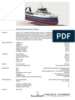 Fishing Vessel Factory Trawler 1288