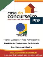 Apostila Tre Pe Direitos Da Pessoa Com Deficiencia Mateus Silveira Unlocked