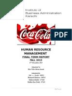 HRM Coca Cola