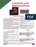 Instrumentps com predeterminadores