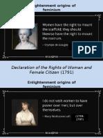 PresentaciónFeminismo