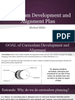 curriculum development and alignment