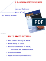 Solid State Physics - Theory