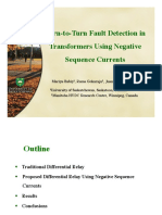 Urn-To-Turn Fault Detection in Transformers