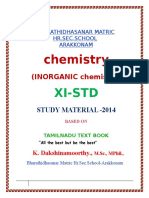 11th Std Chemistry Notes of Lesson-part1.